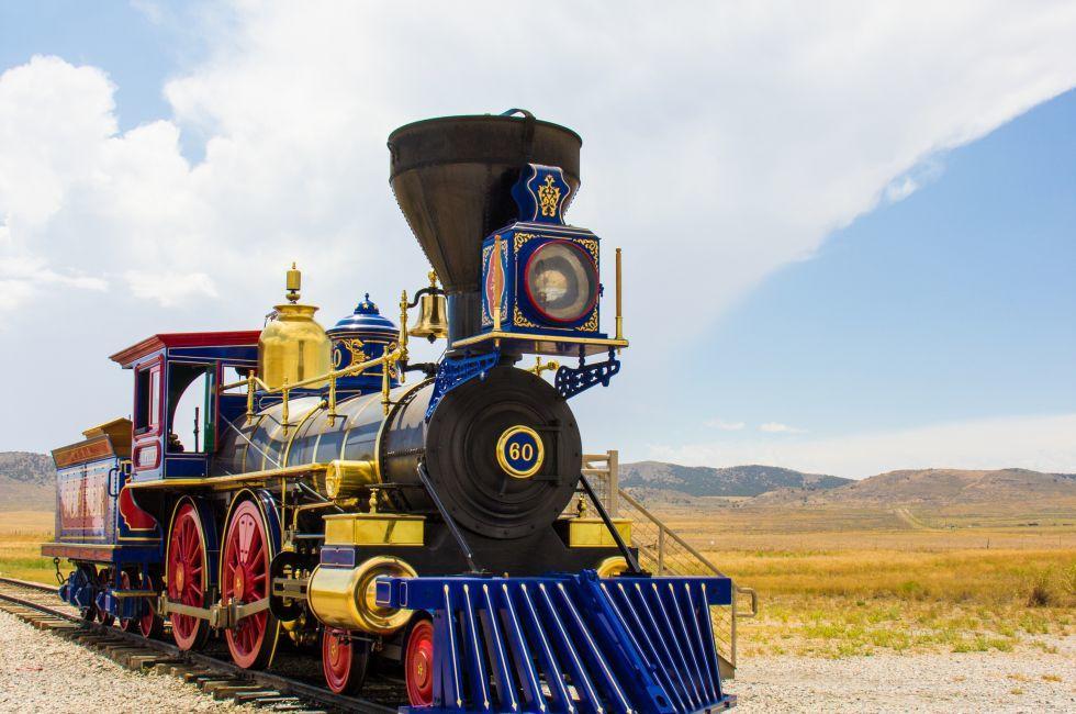 Locomotive, Golden Spike Historical Site, Utah