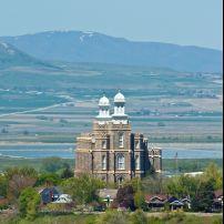Church of Jesus Christ of Latter-day Saints, Temple, Logan, Utah