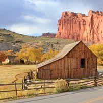 Historic Gifford Barn, Capitol Reef National Park, Utah