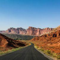 Road, Capitol Reef National Park, Utah