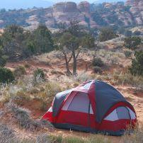 Tent, Arches National Park, Utah