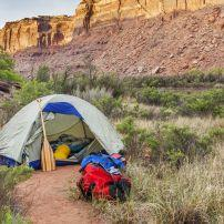 Tent, Canyonlands National Park, Utah