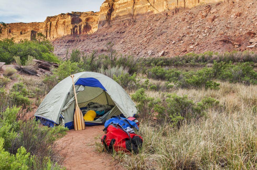 Tent, Canyonlands National Park, Utah