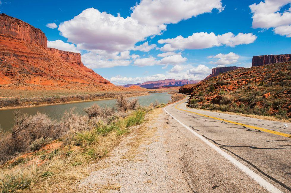 Scenic Highway 128, Colorado River, Moab, Utah