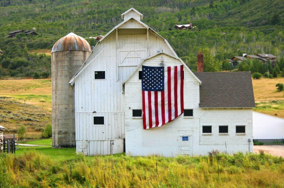 Barn, Park City Utah, USA
