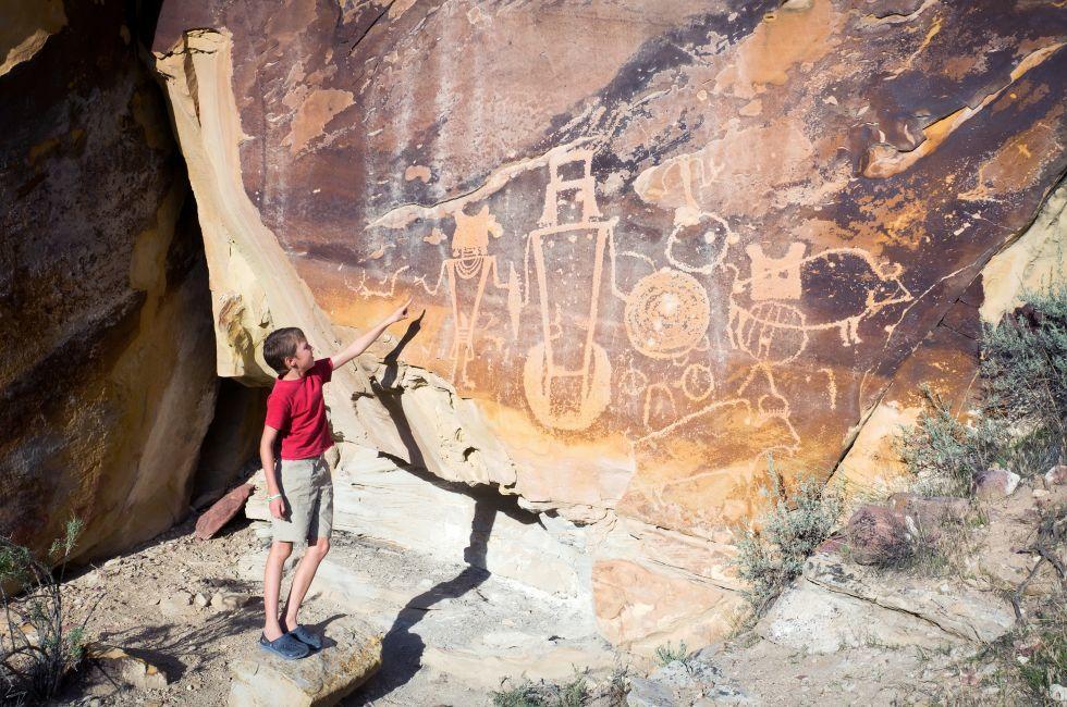 Petroglyphs, Dinosaur National Monument, Utah
