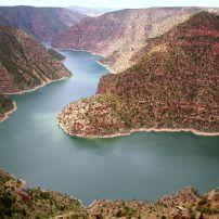 Green River, Flaming Gorge National Recreation Area, Utah