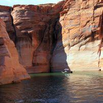 Boat, Lake Powell, Glen Canyon, Utah