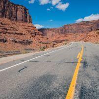 American West Highway, Scenic Utah HIghway 128, Moab, Utah