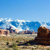 Arches National Park, La Sal Mountains, Utah