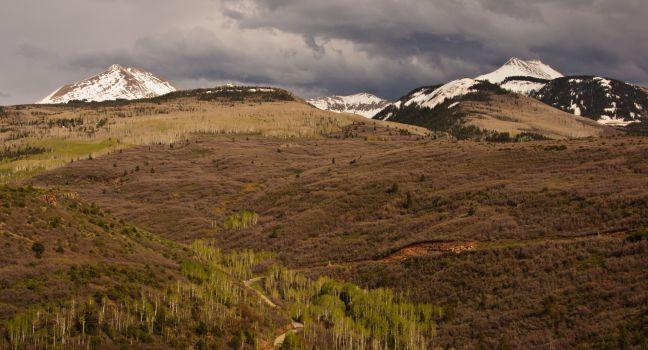 La Sal Mountain Loop, Moab, Utah