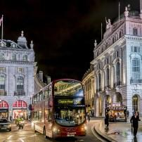 Bus, Piccadilly Circus, London, England