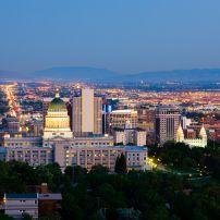 Night, Salt Lake City, Utah