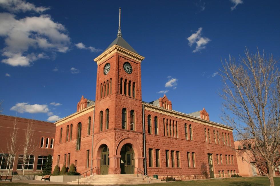 Courthouse, Clock, Flagstaff, Arizona, USA