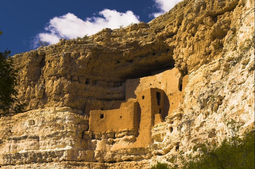 Montezuma Castle, Arizona, USA