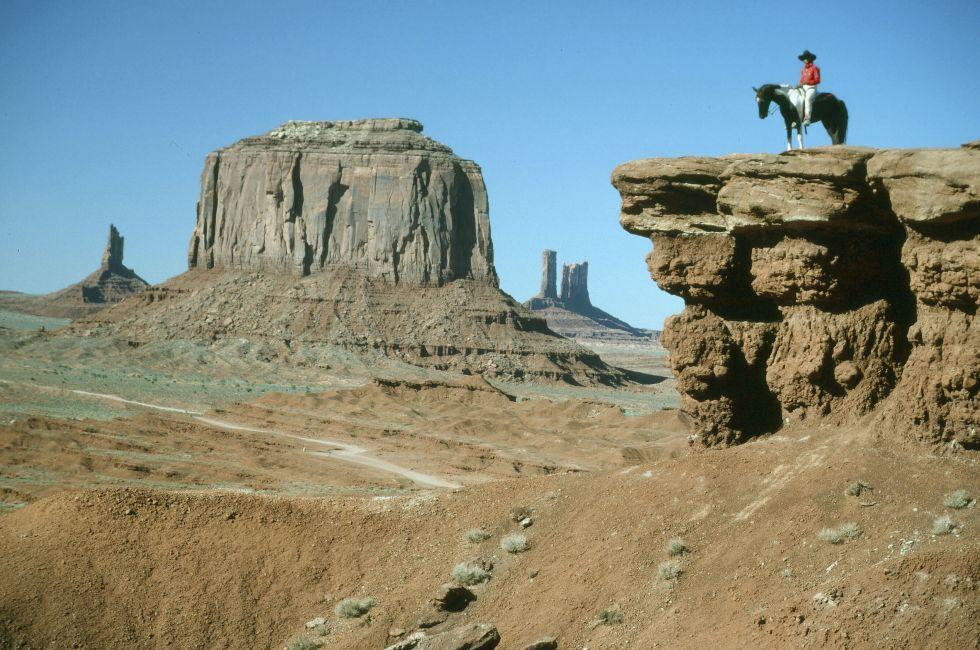 John Ford Lookout, Mesa, Monument Valley, Arizona, USA