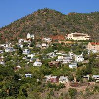 Cityscape, Jerome, Arizona, USA