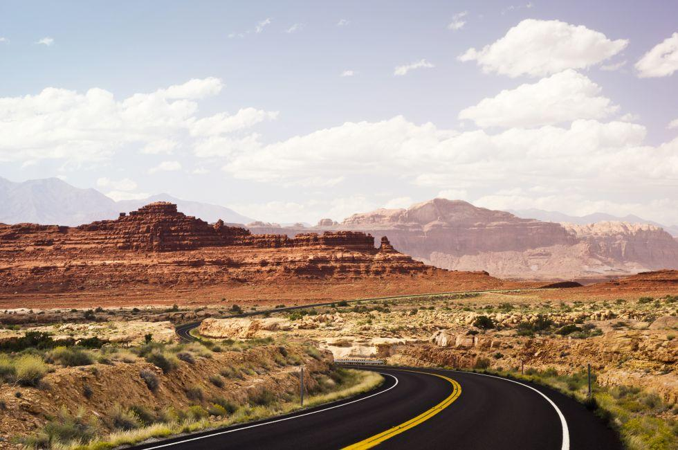 Road, Glen Canyon National Recreation Area, Utah