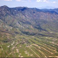 The Huachuca Mountains, Sierra Vista, Arizona