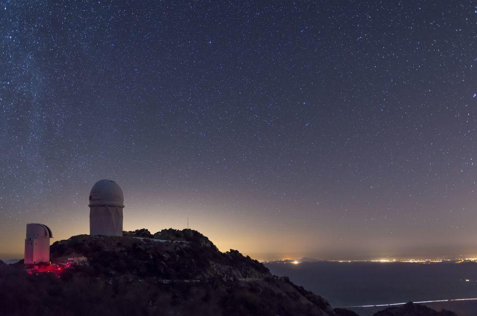 The Mayall Observatory, Kitt Peak, Tucson, Arizona