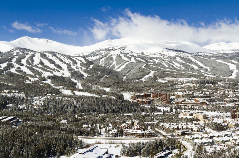 Breckenridge Ski Area, Breckenridge, Colorado