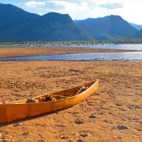 Canoe, Lake Dillon, Frisco, Colorado
