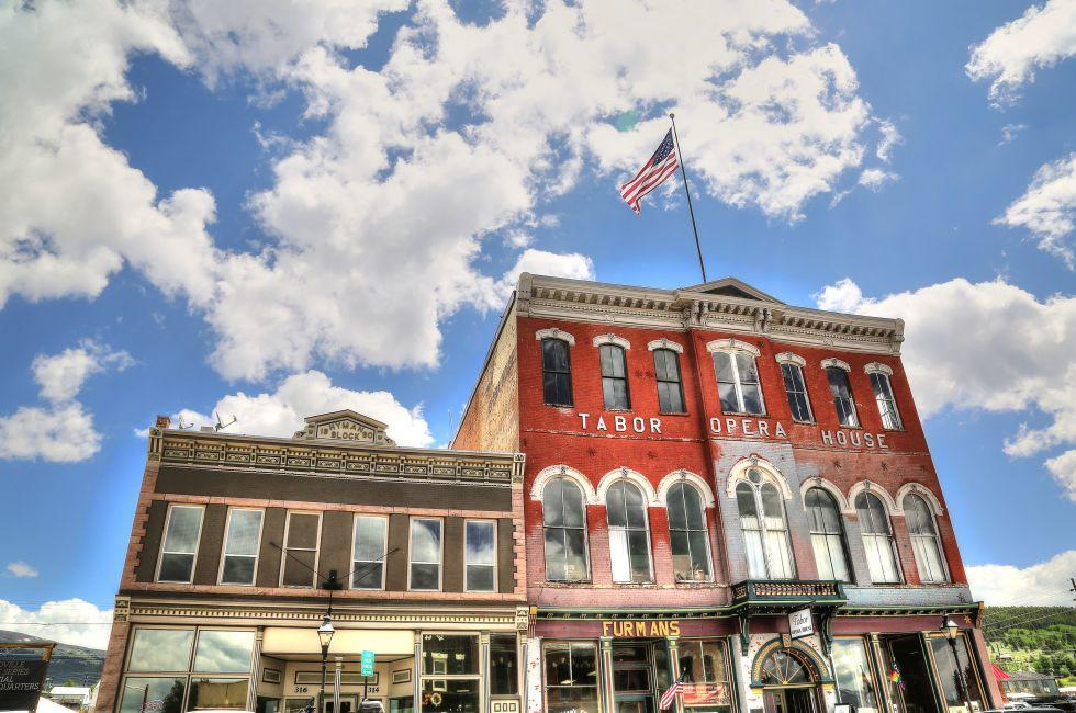 Historic Tabor Opera House and Museum, Leadville, Colorado