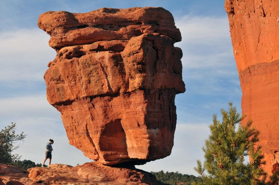 Rock, Garden of the Gods National Park, Colorado Springs, Colorado, USA