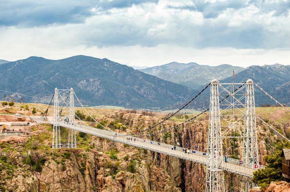 Royal George Suspension Bridge, Colorado, USA