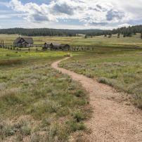 Florissant Fossil Beds National Monument, Colorado, USA