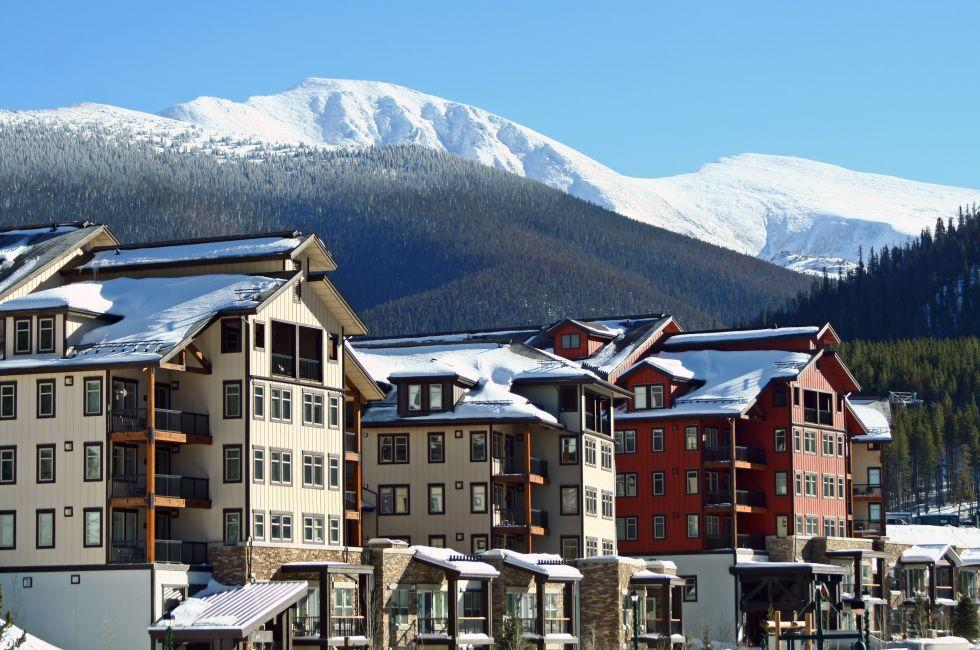 Ski Lodges, Winter Park, Colorado