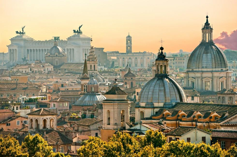 Aerial, Rome, Italy