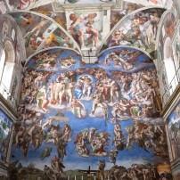 Ceiling, Cappella Sistina, Rome, Italy