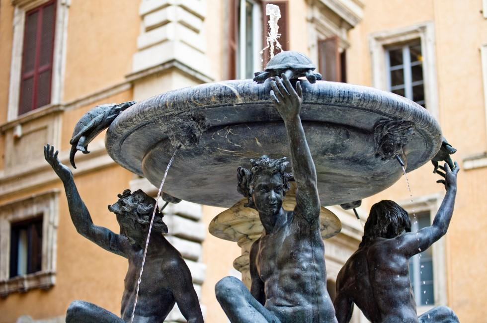 Fontana delle Tartarughe, Trastevere and the Ghetto, Rome Italy