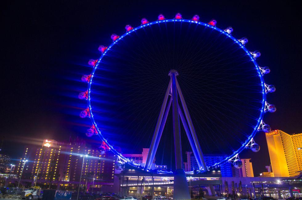 High Roller, The LINQ, Center Strip, Las Vegas, Nevada, USA, North America