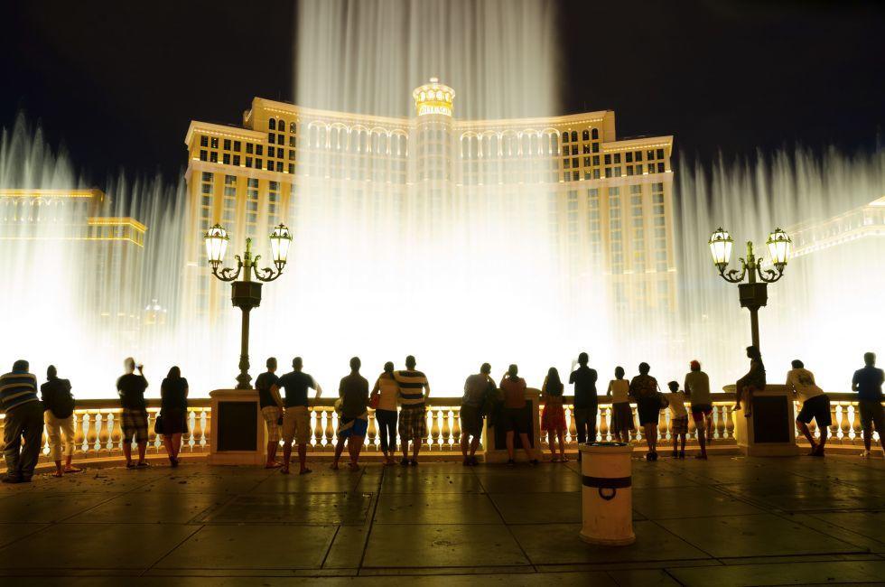 Musical Fountains, Bellagio Hotel & Casino, Las Vegas
