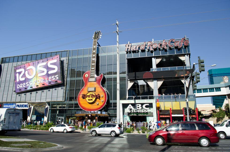 Hard Rock Cafe, Paradise Road and the East Side, Las Vegas, Nevada, USA