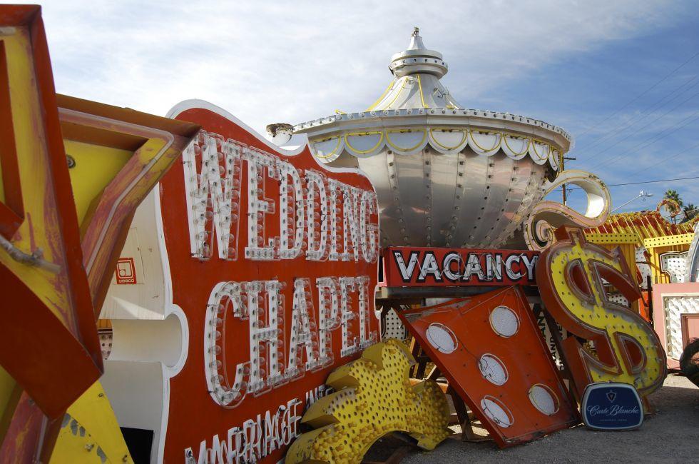 Neon Museum, Las Vegas, Nevada, USA