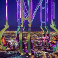 Stratosphere Thrill Rides, Las Vegas, Nevada, USA