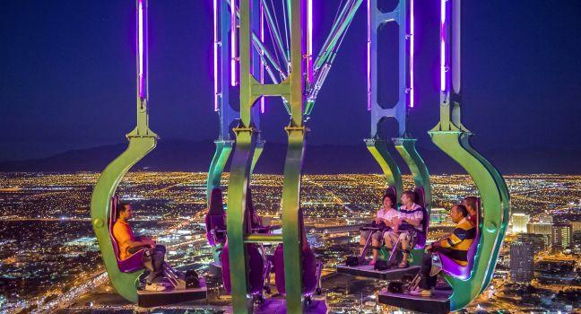 Stratosphere Thrill Rides, Las Vegas, Nevada, USA