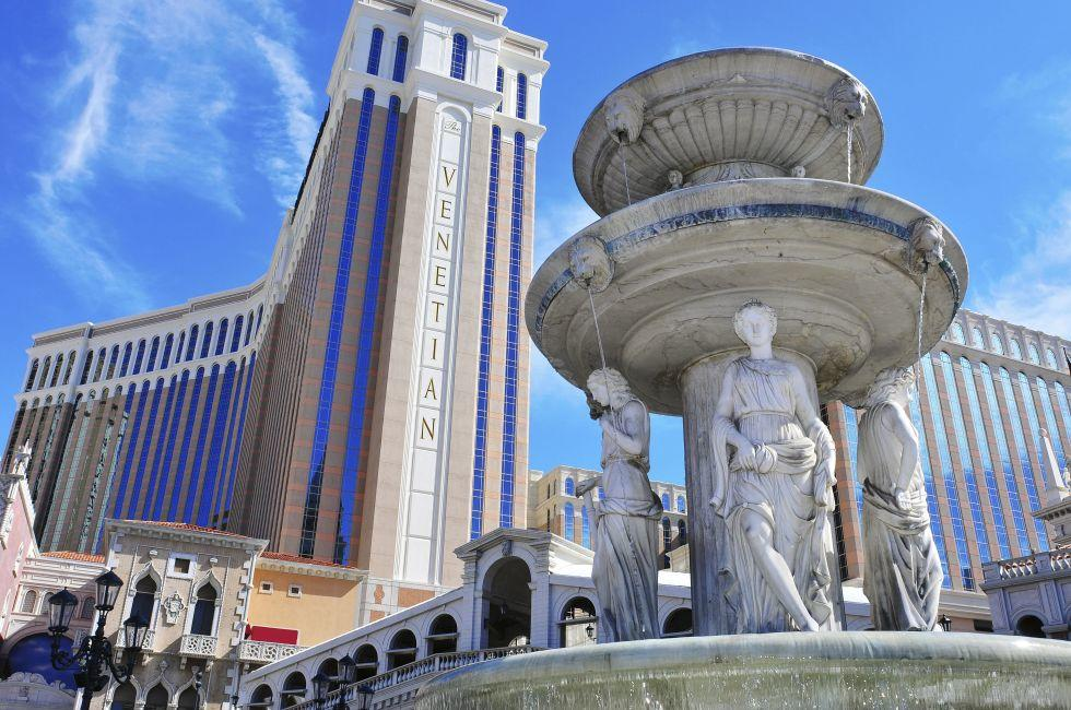The Venetian Resort Hotel Casino, Las Vegas, Nevada
