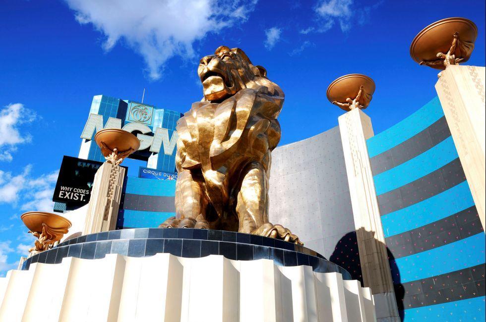 MGM Grand Hotel Casino, South Strip, Las Vegas, Nevada, USA