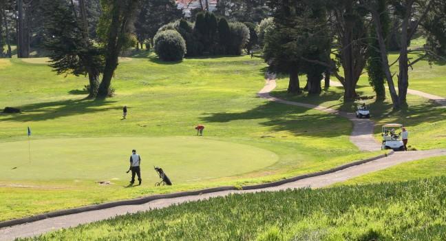 Golf, Lincoln Park, San Francisco, California, USA