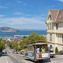 Cable Car, North Beach, San Francisco, California, USA