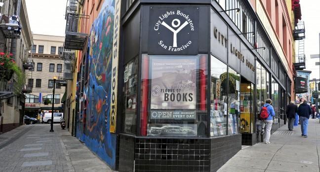 City Lights Bookstore, San Francisco, California, USA