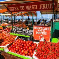 Farmer's Market, Pier 39, San Francisco, California