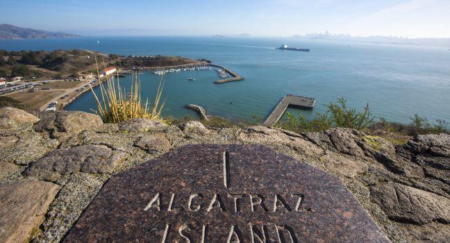 Observatino Post, Alcatraz Island, San Francisco, California