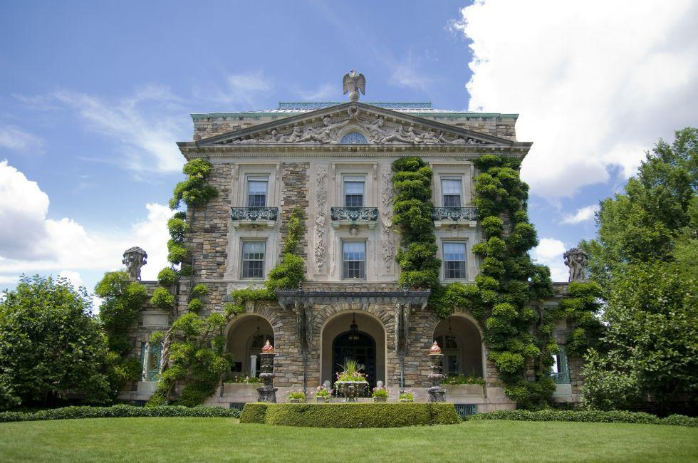 Kykuit, Facade, Tarrytown, The Hudson Valley, New York, USA