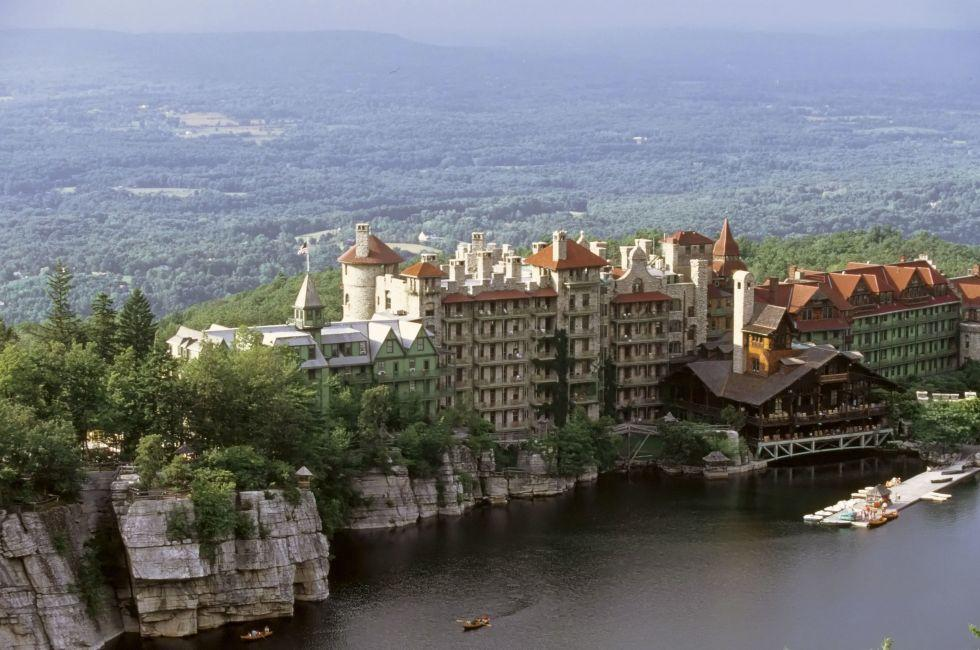 Mohonk Mountain House, Lake Mohonk, Catskills, Shawangunks
