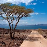 Road, Lake Turkana, Kenya